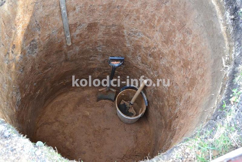 Копка колодца в Щёлково