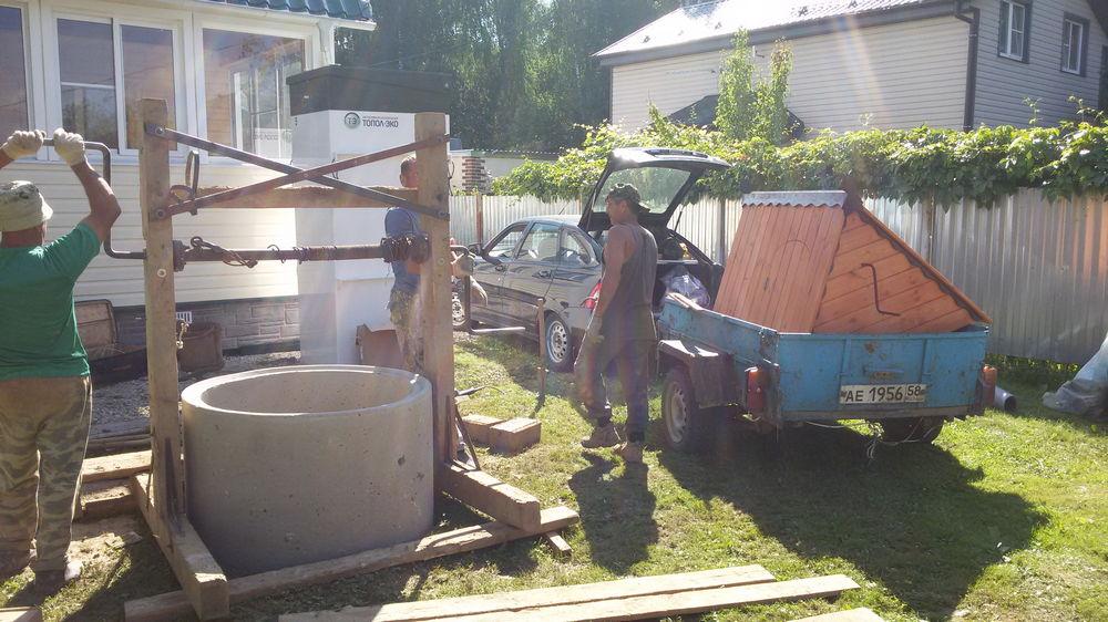 копка колодцев в Одинцовском районе