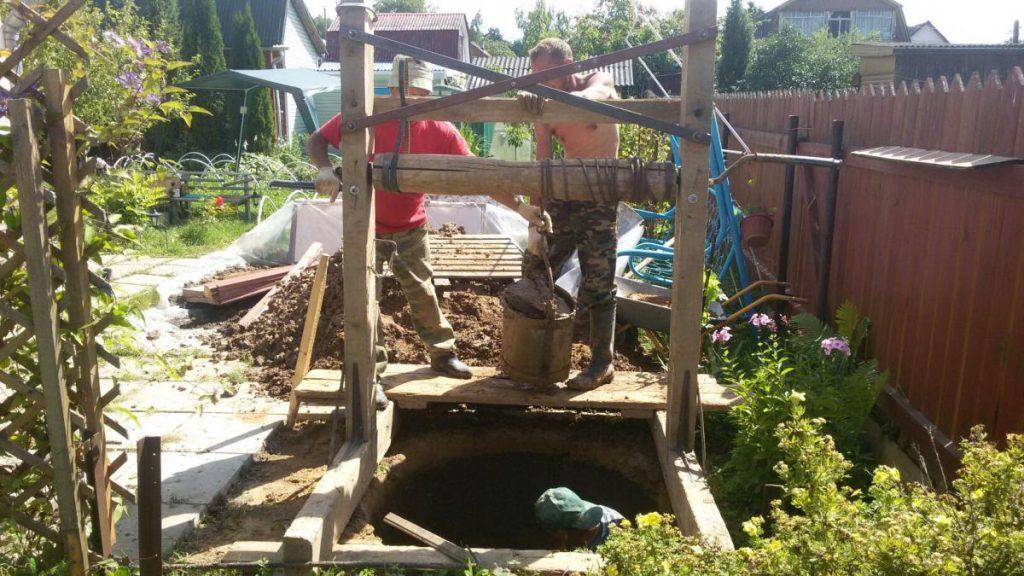 копка колодцев в Домодедовском районе