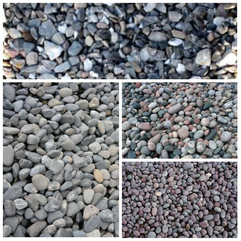 донный фильтр из речных камней
