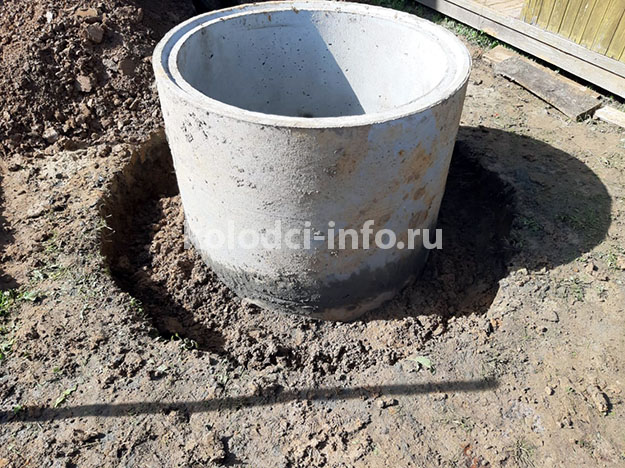Копка колодца в Люберцах