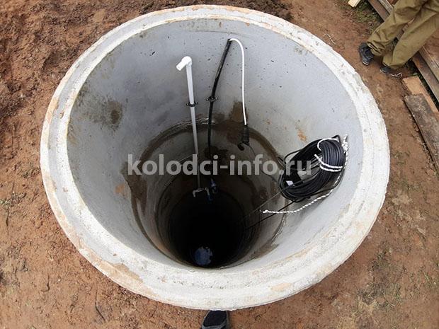 Уровень воды в колодце