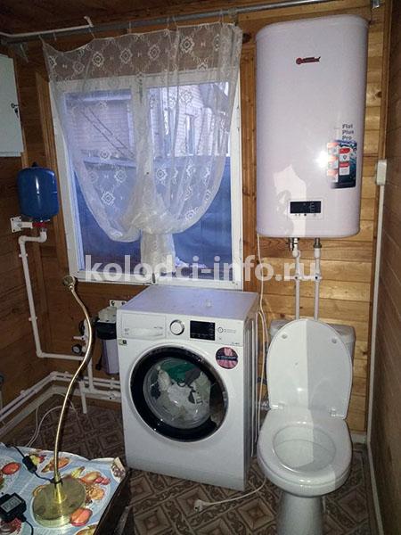 Сборка и установка сантехники в частном доме, подключение водонагревателя