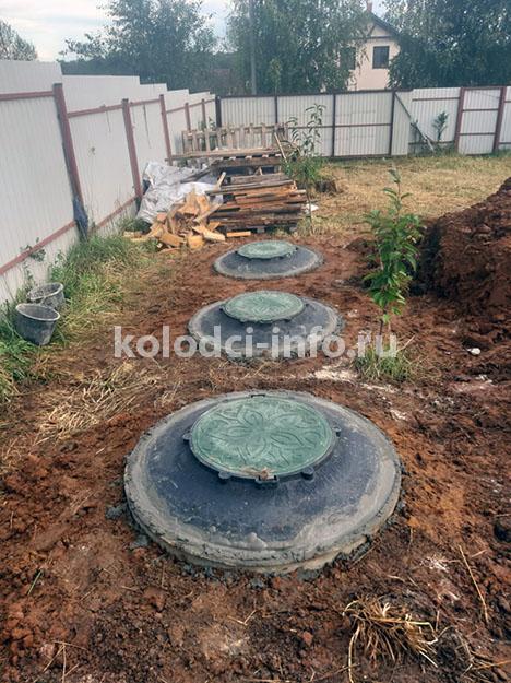 Септик из бетонных колец - вариант канализации для частного дома