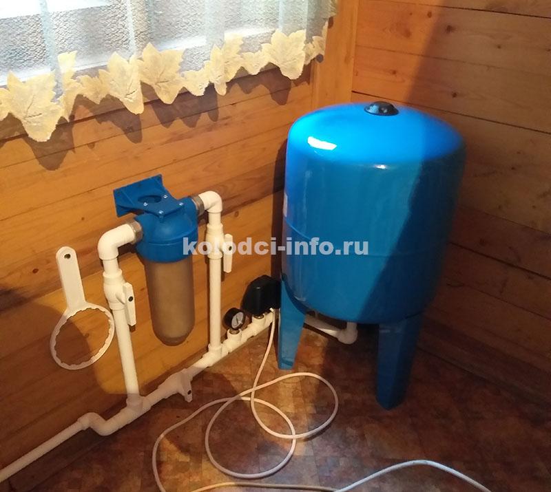 Водоснабжение дачи из колодца или скважины